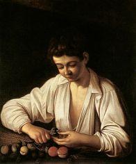 300px-caravaggio_a_boy_peeling_fruit_1593